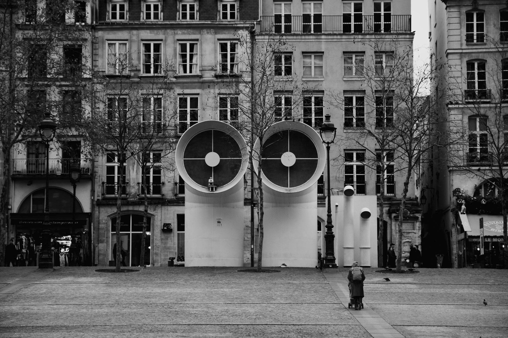lo sguardo Centre Pompidou